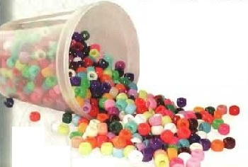 TRADE NECK BEADS 100 pack (PLASTIC)