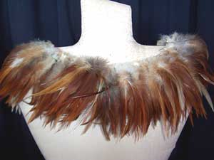 EXTRA SPECIAL NATURAL RED SADDLE HACKLE-STRUNG
