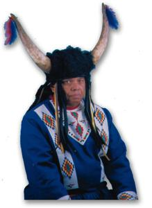 Old Style Plains Buffalo Headdress