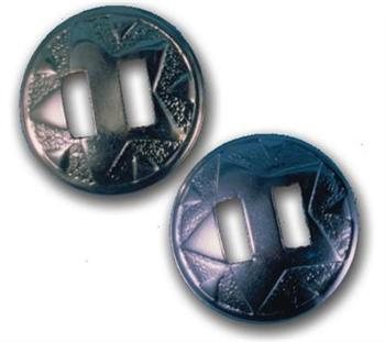 Metal Conchos 1'' Diameter