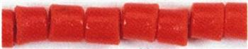 GLASS TILE TUBULAR BEADS - PACK OF 100