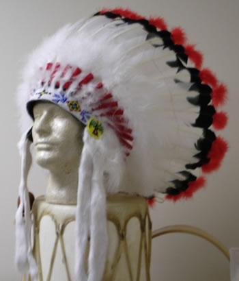Indian Headdress Bead Craft