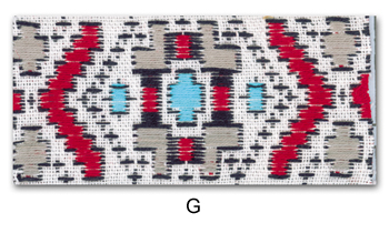 1.5'' Cloth Strip-Geometric Pattern