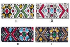 1.5'' Cloth Strip-Geometric Pattern