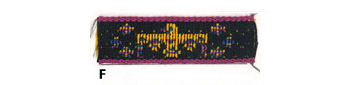 1'' Cloth Strip-Thunderbird Design