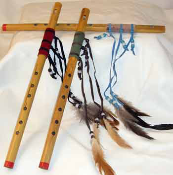 Native American Musical Instruments, Drums, Flutes and Rattles