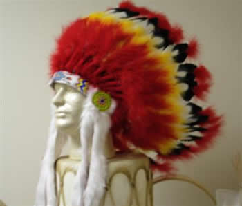 Ready-Made Fire Warbonnet