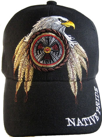 Native Pride Eagle Dreamcatcher Hat