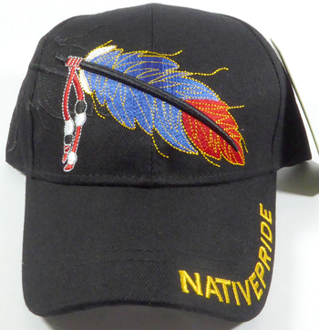Native Pride Feather Hat