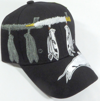 Native Pride Peace Pipe and Buffalo Hat