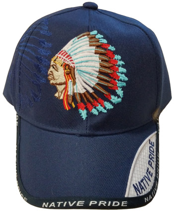 Chief Native Pride Embroidered Hat