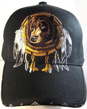 Native Pride Bear Dreamcatcher Hat