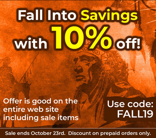 Fall Into Savings with 10% off