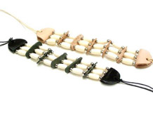 Bone Hairpipe Bracelet Armband