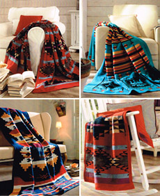 Native Inspired Blankets