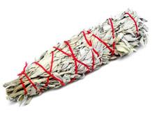 White Feather Sage Smudge Stick