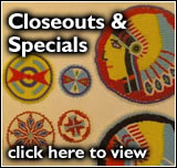 Closeouts & Specials