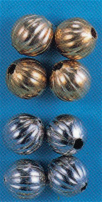 FLUTED BEAD 3/32'' (2 1/2mm) - 50 PACK