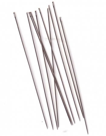 # 13 ENGLISH BEADING NEEDLES - PACK OF 25