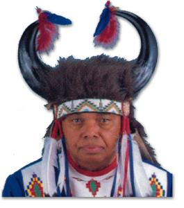 Kiowa Medicine Man Horned Headdress