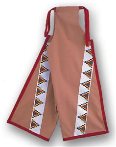 Plains Double Nap Buckskin Cloth Leggings Kit