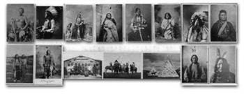Historic American Indian Postcards