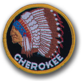 EMBROIDERED PATCHES -SEW-ONS - CHEROKEE