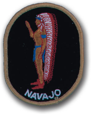 EMBROIDERED PATCHES -SEW-ONS - NAVAJO