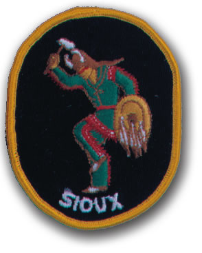 EMBROIDERED PATCHES -SEW-ONS - SIOUX
