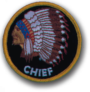 EMBROIDERED PATCHES -SEW-ONS - CHIEF