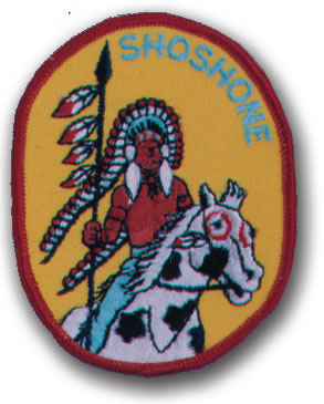 EMBROIDERED PATCHES -SEW-ONS - SHOSHONE