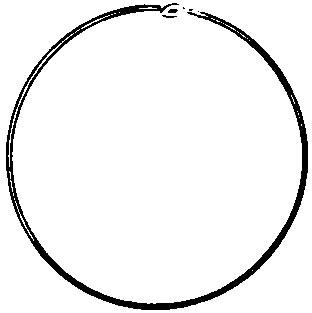 EARRING HOOP 1'' Diameter