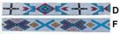 BEADED STRIPS 4'' Width x 40''