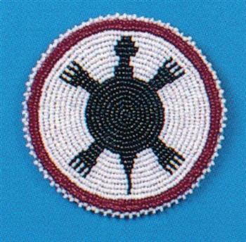 Topic Native american beaded rosettes strips headbands