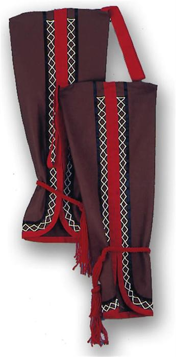 Woodland Double Nap Buckskin Cloth Leggings Kit