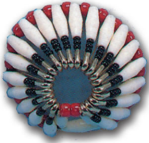 INDIAN WARBONNET NECKERCHIEF SLIDE KIT